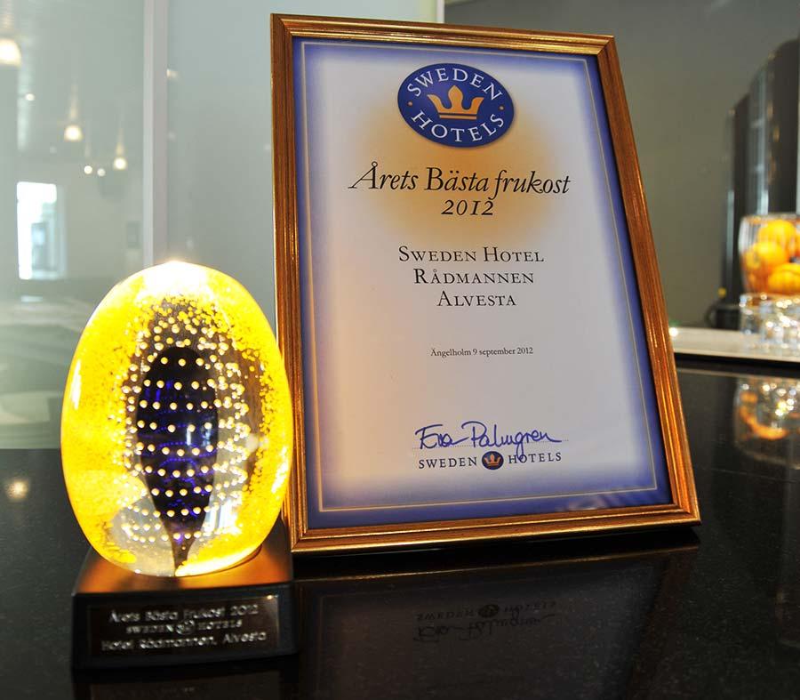 Hotell Rådmannen Pris på Årets Frukost